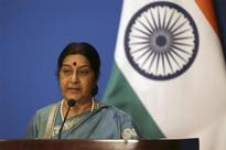 Oath-taking ceremony: Sushma Swaraj takes dig at media