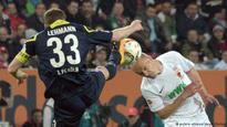 Bundesliga: Augsburg close to safety after scoreless draw with 10-man Cologne