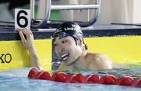 Hagino gets back on course for Rio Games