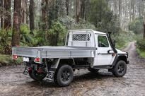 Benz eyes rural role for cab-chassis 4×4 and its two-tonne payload