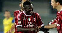 Newly promoted Italian Serie A side Cagliari want to sign free agent Sulley Muntari