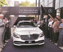 Mercedes-Benz unveils India's first BS-VI car, promises better fuel economy