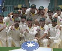 Aus defeats Eng by an innings & 123 runs in 5th test to wrap up Ashes 4-0