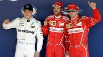 Sebastian Vettel on pole for Russian GP in Ferrari one-two