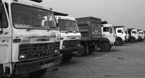 Truckers protest use of dumpers to carry petcoke