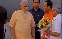 Narendra Modi in Surat: Roadshow concludes, PM reaches Circuit House