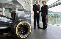 McLaren-Honda, NTT announce three year partnership