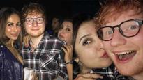 In Pics: Ed Sheeran has a gala time partying with Shah Rukh Khan Shahid Kapoor and others at Farah Khan's place