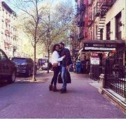 SPOTTED: Anurag Kashyap kissing girlfriend Shubhra Shetty in New York
