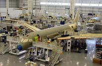 Bombardier rejects Boeing trade claim, shares slide
