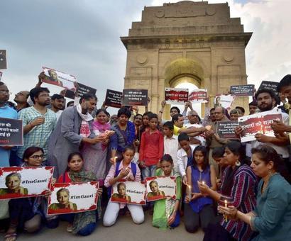 Outrage over murder of Gauri Lankesh