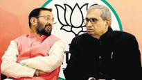 Javadekar attacks Samajwadi Party, Congress