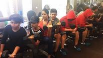 Like Salman: Katrina Kaif TRAINS with Sohail Khan and Arbaaz Khan's sons at the gym!
