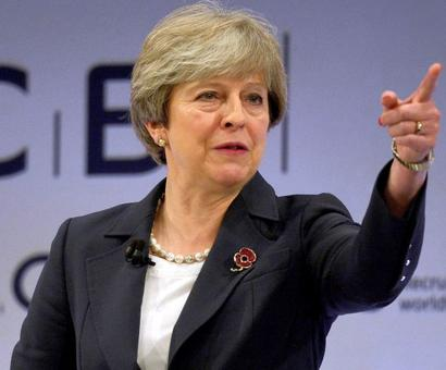 UK to exit EU on March 29, 2019 at 11 pm: May