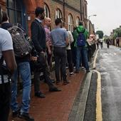 Flooding hits London and the South East on polling day