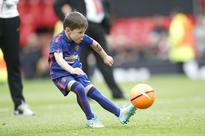 Photos: Wayne Rooney's Six-Year-Old Son Kai Signs With Manchester United Youth Development Squad