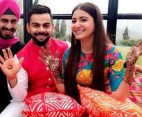 Twitter reacts with congratulatory messages for #VirushkaWEDDING