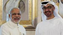 Trade, security to be focus of Modi and UAE Crown Prince Al Nahyan talks