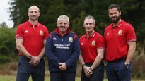 Lions NZ tour coaches named
