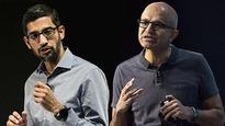Microsoft, Google drop complaints
