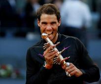 Rafael Nadal overpowers Dominic Thiem to win fifth Madrid title