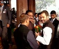 In absence of Sonia, Rahul chairs Cong's Parliamentary Party Meeting