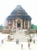 ASI Director inspected conservation work of world-famous Sun Temple in Konark