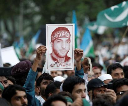 Row erupts after National Conference leader calls Burhan Wani a 'martyr'