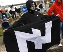 Multiple stabbings at California neo-Nazi event