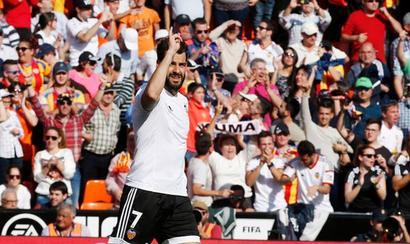 La Liga: Late Negredo strike lifts Valencia, Villarreal beat Getafe