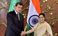 Sushma Swaraj discusses TAPI pipeline project with Turkmenistan counterpart