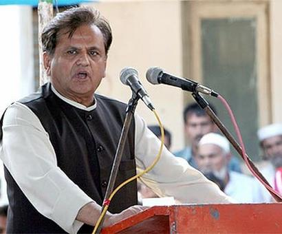 Use money saved after Haj subsidy withdrawal for welfare of Muslims: Ahmed Patel