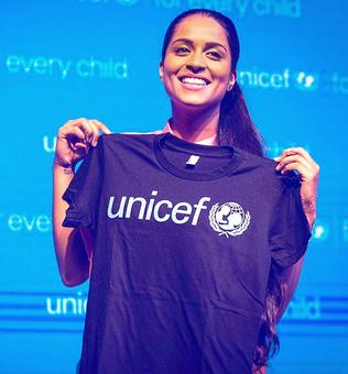 Lilly Singh: From 'Superwoman' to goodwill ambassador