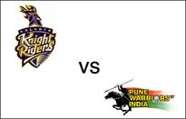 Kolkata vs Pune LIVE: Gambhir, Kallis fall early for Knight Riders