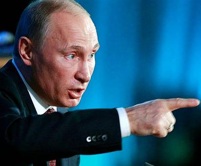 Exit poll gives Putin overwhelming win
