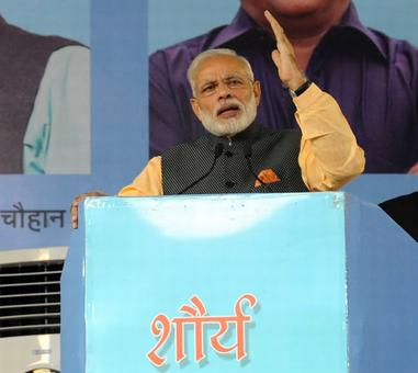 Our Army doesn't speak, it acts: Modi to ex-servicemen in Bhopal