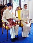 Sultan marries TV personality