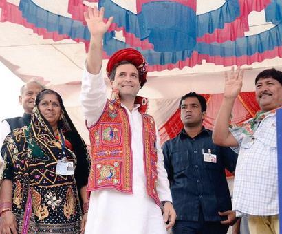 Rahul woos Patidars, invokes legacy of Sardar Patel