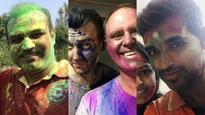 Holi 2018: Did Matthew Hayden-Brett Lee beat Sehwag and Bhuvi at their own game?