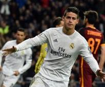 Man Utd told they can move for Real Madrid's James Rodriguez