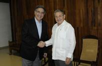 Cuban President Raul Castro Meets with Brazilian Foreign Trade Minister
