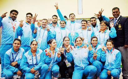 SAG: Archers claim three more gold; lifters end with 12 gold