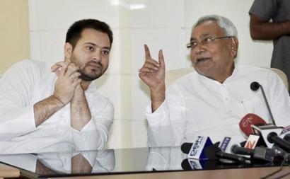 Bihar rift widens, Tejashwi skips event attended by Nitish