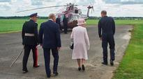 Pictures: Queen opens new Air Ambulance base