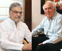 CP Joshi, Kapil Sibal fill in shoes for Bansal, Ashwini