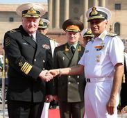 Russian Navy Chief Adm Vladimir Korolev in India
