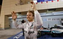 Rosberg wins Bahrain GP, Hamilton 3rd after collision