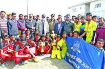 IR 3rd Volleyball championship concludes;MPHS Baliharan Pattan lifts trophy
