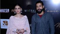 Is rumoured girlfriend Aditi Rao Hydari upset with Farhan Akhtar because of Shraddha Kapoor?