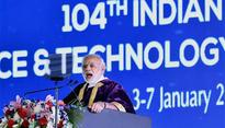 Modis speech at India Science Congress was all slogan and no substance